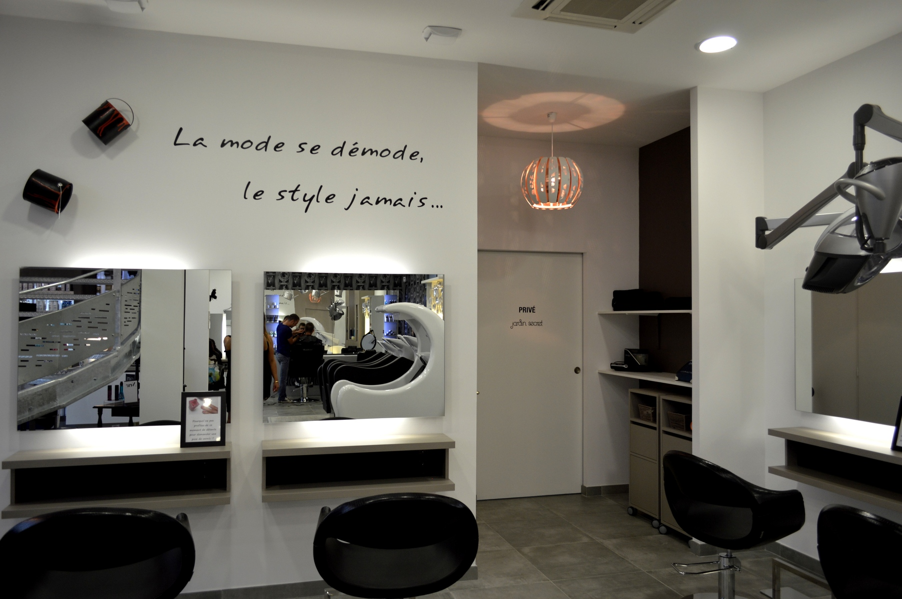 Salon De Coiffure Réalisations Boyrie Peinture